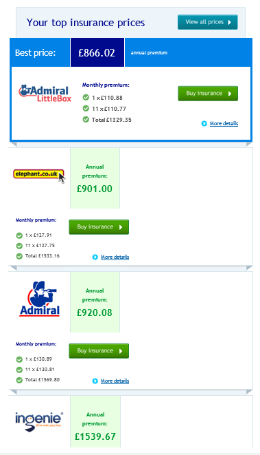 how to get cheaper car insurance as a young driver