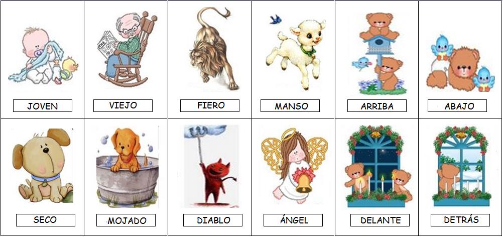 Aprender en clase los sinónimos y antónimos
