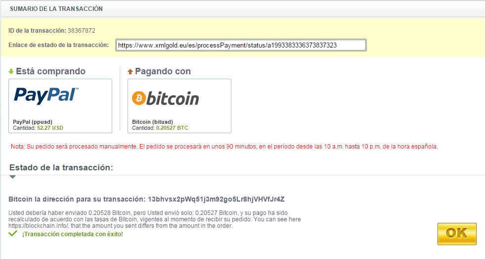 how to send bitcoin to paypal