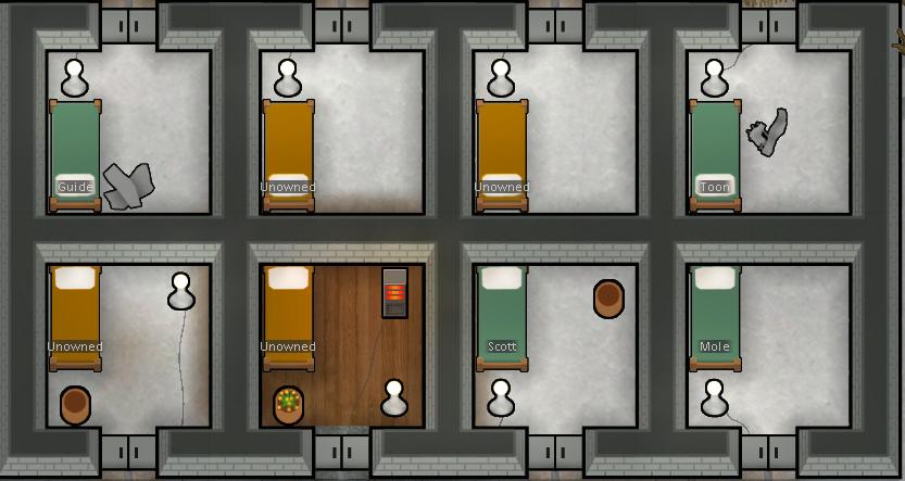 Bedroom Design Rimworld