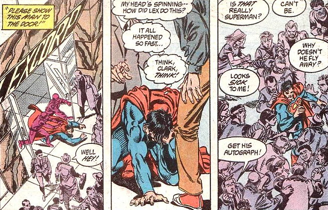 What does it mean to superman someone