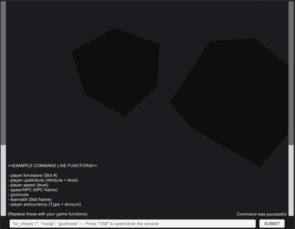 Command Line Console for plyGame | Noclip, Godmode, AddItem ...