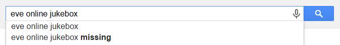 Google Jukebox Suggestions