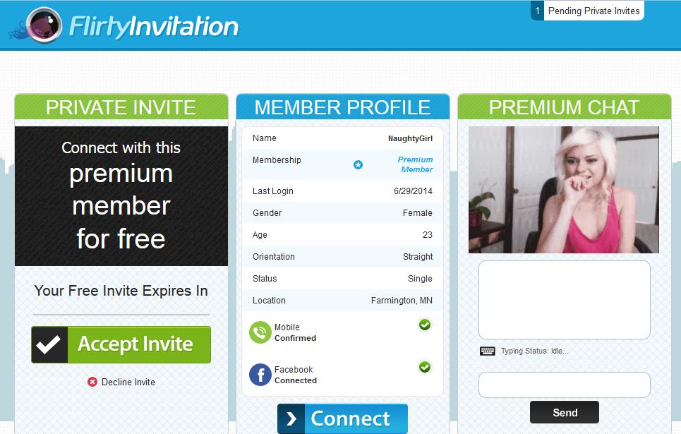 Flirty Invitation for perfect invitations sample