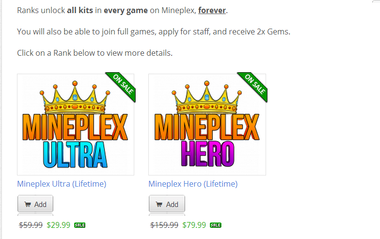 Mineplex coupon codes