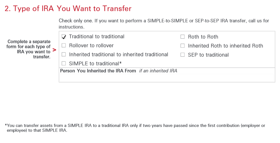 Transferring from Simple IRA to Traditional IRA - Bogleheads.org