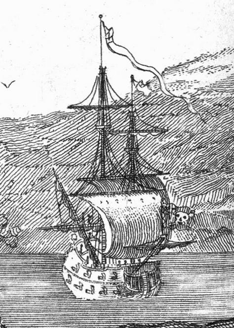 Famosos Barcos Piratas: La Venganza de la Reina Ana