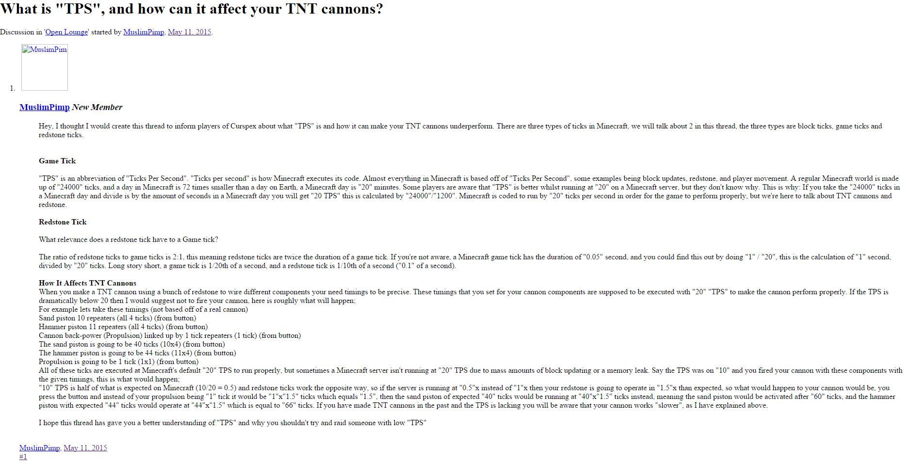 What Is Tps >> What Is Tps And How Can It Affect Your Tnt Cannons Page 2