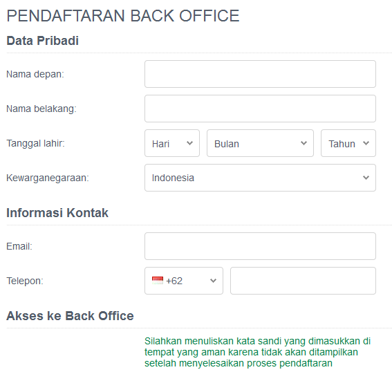 Penyedia Likuiditas JustForex Indonesia