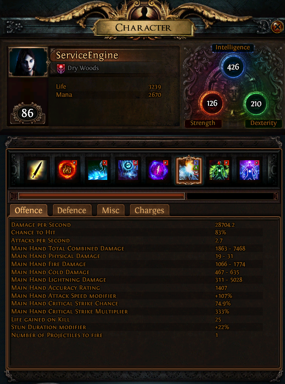 Poe Hit And Run Build