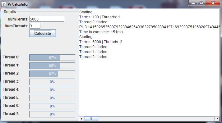 GitHub - skrustev/java-pi-calculation: Pi calculator in Java using ...
