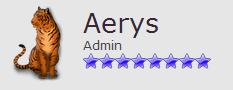 Aerys : Admin