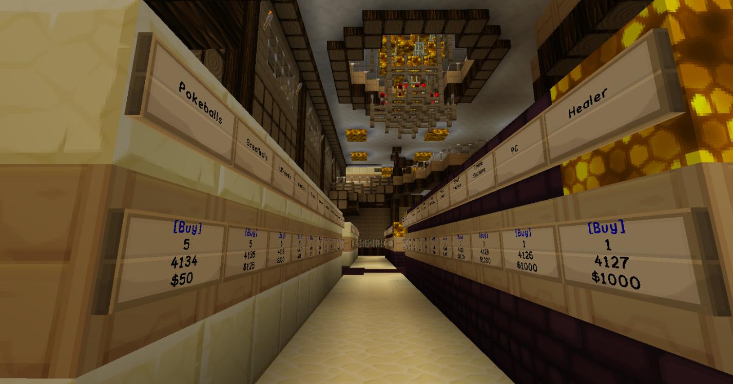 Server Shop Inside