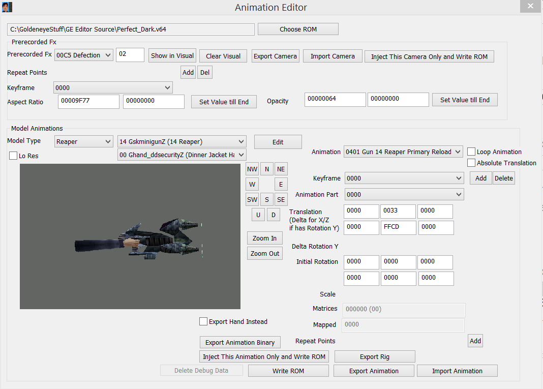 PD Animation Editor