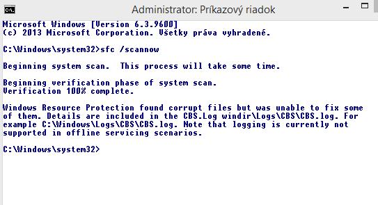 Windows8.1 začal robiť hlúposti