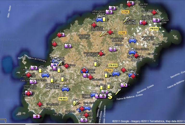 Карты мест фотографии в tdu 2