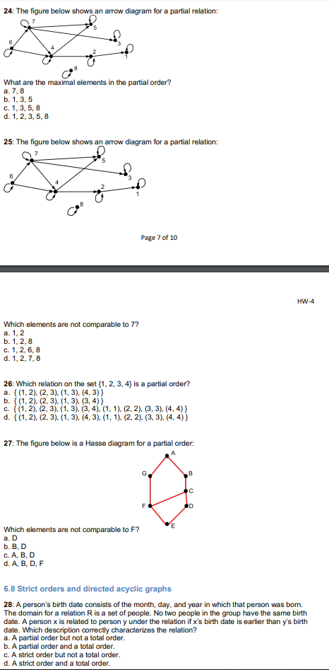 Solved 18 the figure below shows a directed graph g wha no answer is also an option ccuart Image collections