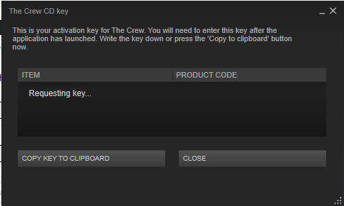 product key not working on steam
