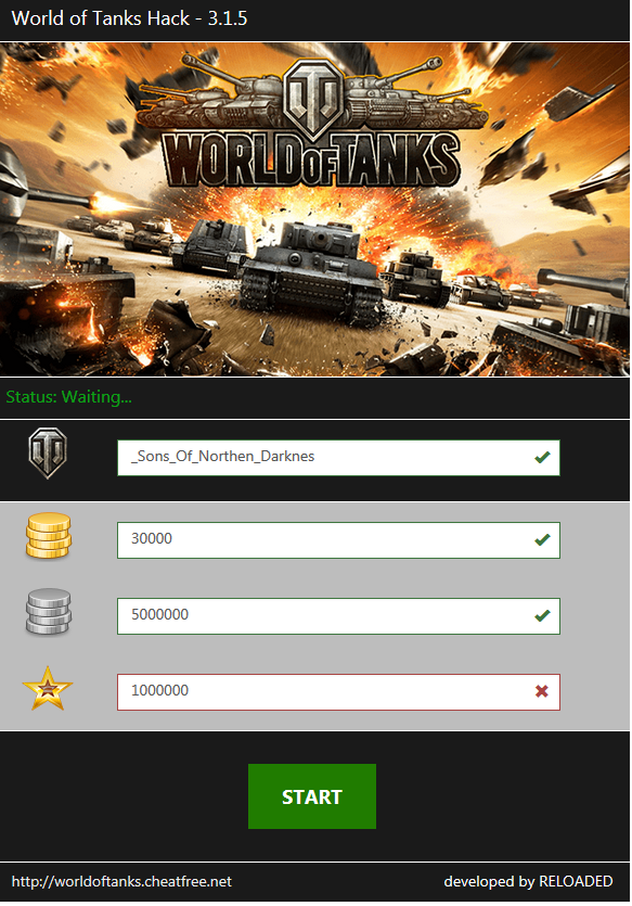 World of Tanks Hack Tool 2017 updated for version 94