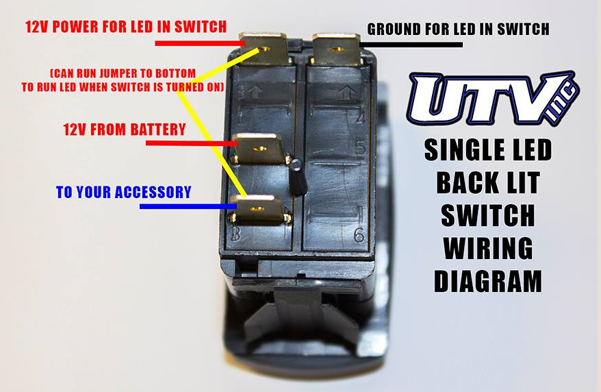 warn atv winch rocker switch wiring diagram for mini 2500