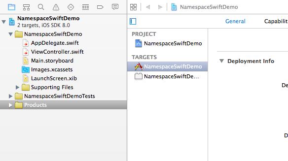NamespaceSwiftDemo