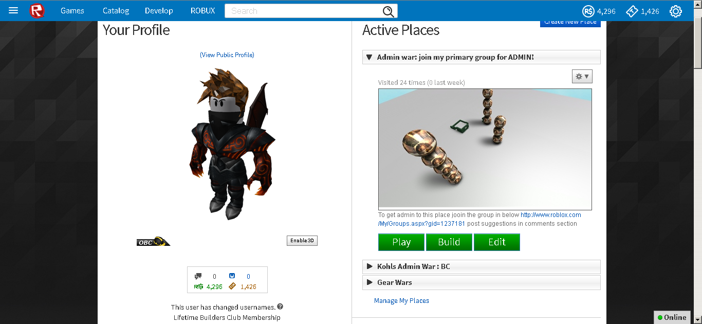 Sold 2011 Obc Lifetime Cheap Playerup Accounts Marketplace