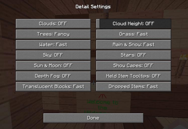 how to make shader packs no lag