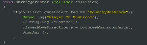 PlayerCodeSnipet