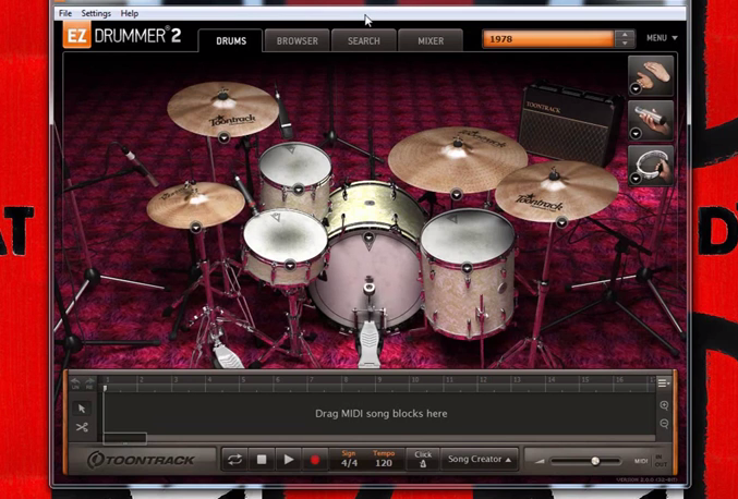 ez drummer 2 sound test