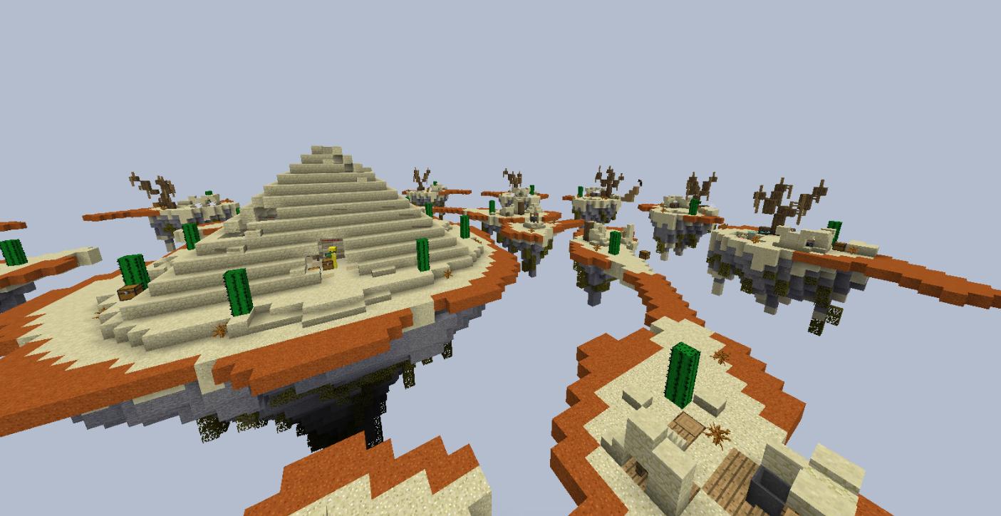 скачать карту мини игры для minecraft #11
