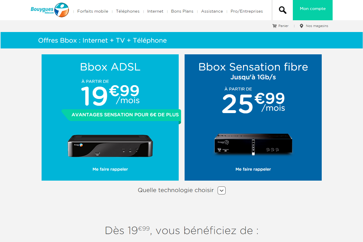 compte bouygues messagerie bbox