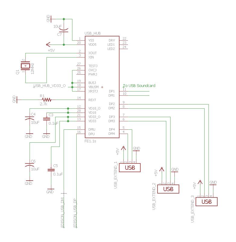 Usb-hub своими руками схема