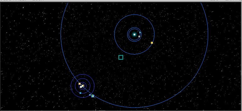 Dantorian Space Race - Technic Platform