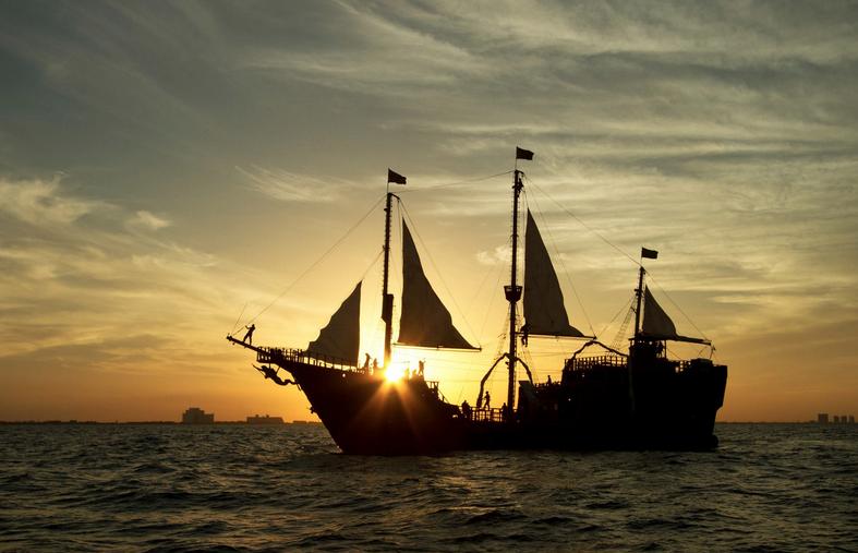 Barco pirata Jolly Roger de Cancún en TripAdvisor