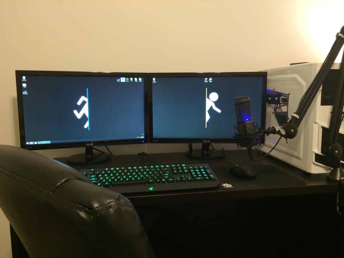 So It S Time For Triple Monitors Se7ensins Gaming Community
