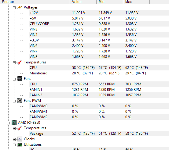 PC Keeps Freezing While Gaming, Not sure how to read Voltage Chart ...