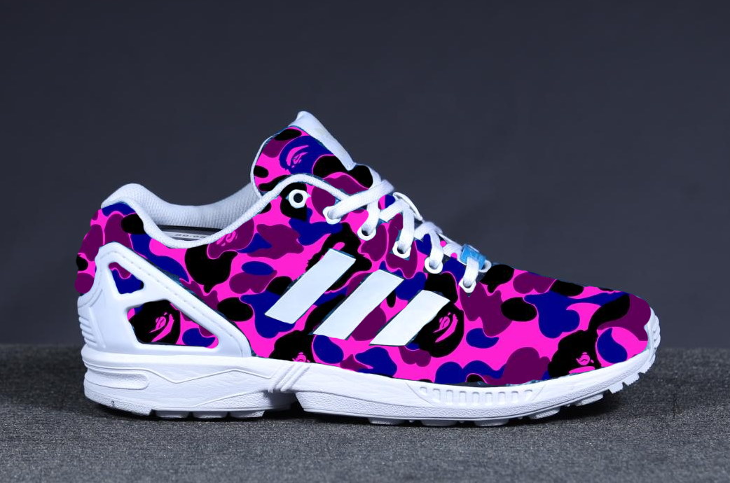 Adidas Zx Flux Pink And Purple