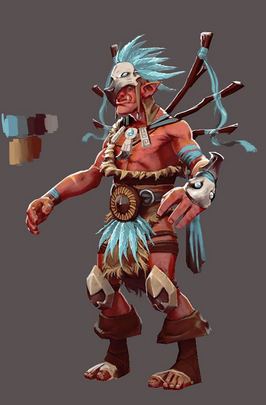 troll warlord has been broken down for cosmetics possible