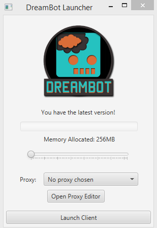 how to set up dream bot