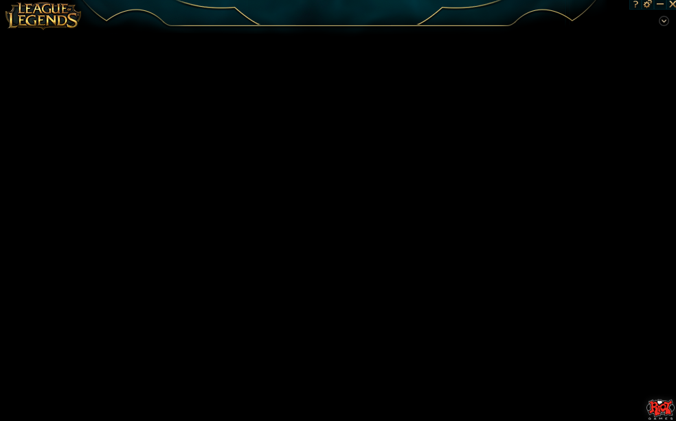 how to fix league of legends black screen after launch