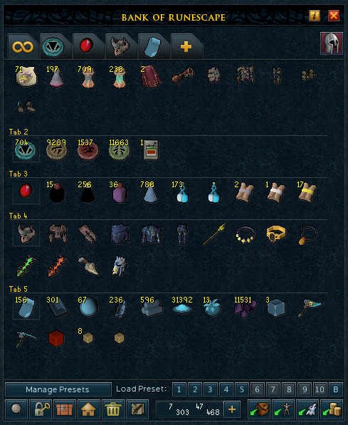 My Maxed RS3 Account That Makes Me Bond Money For OSRS