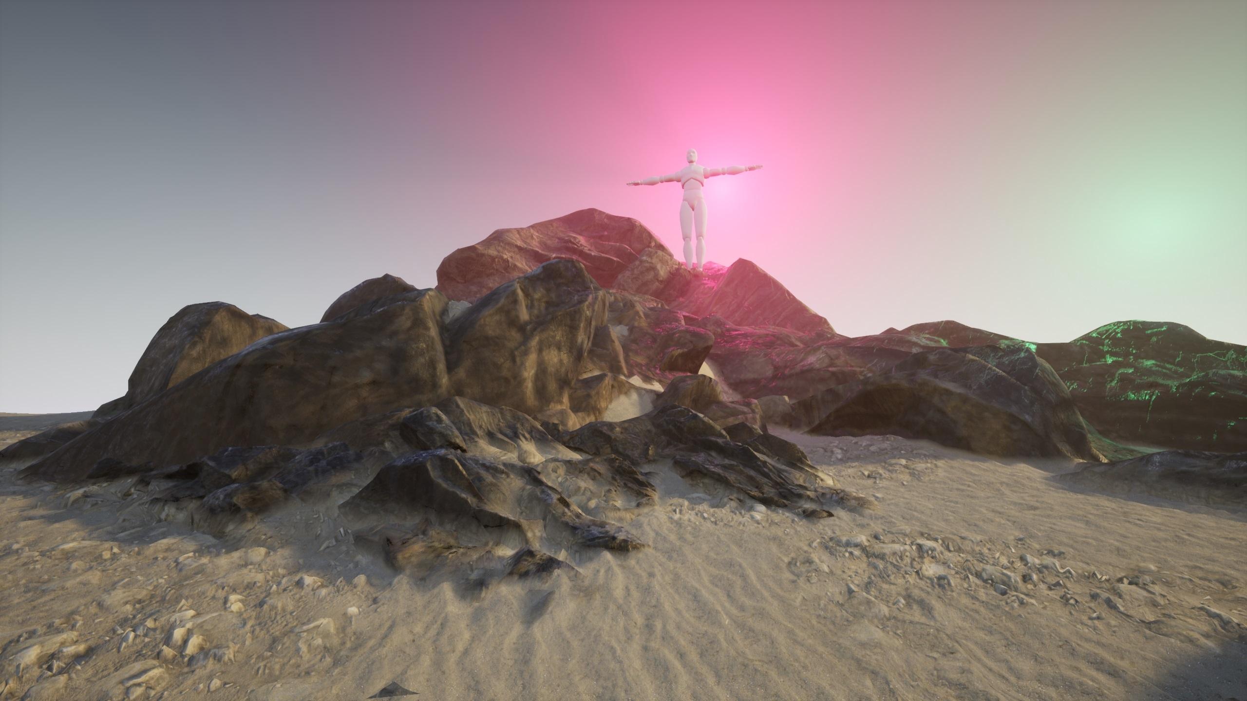 UE4 Terrain Blending: Part 1, Distance Fields - How, why