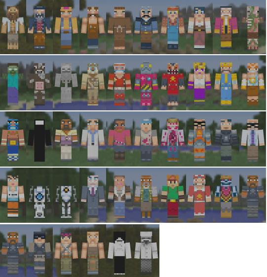Xbox 360 - All Minecraft Xbox 360 Skins | Se7enSins Gaming Community