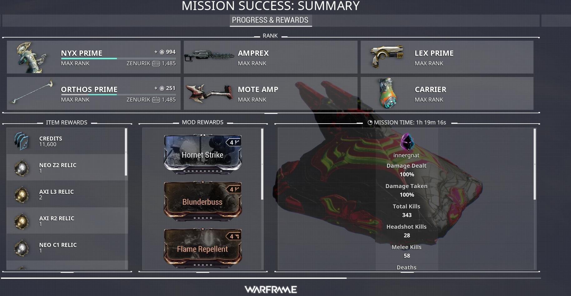 Matchmaking avec une mission