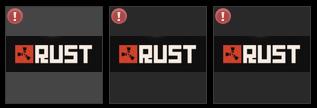 Продам гифты Rust 150p (x3)