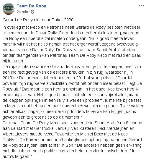 2019 41º Rallye Raid Dakar - Perú [6-17 Enero] - Página 14 021cf775ce5e1a02ca7b06c50de49bb1