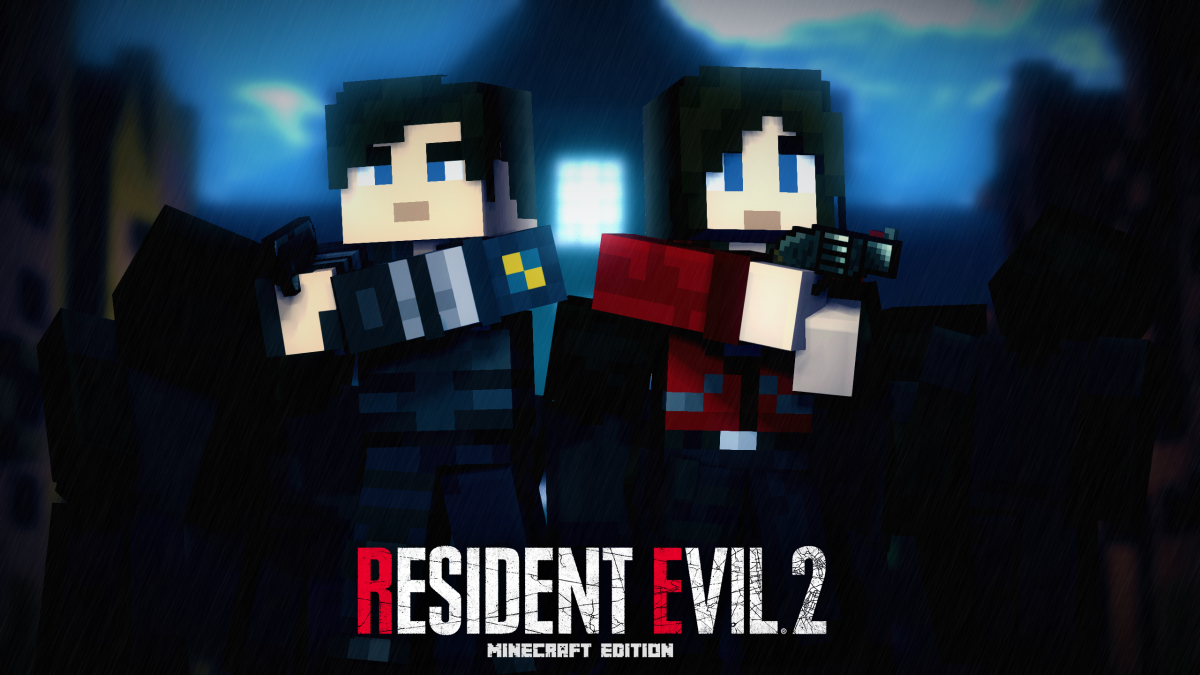 Resident Evil 2 Remake Mc Edition Poster Wallpapers And Art Mine Imator Forums