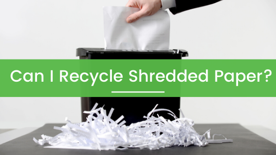 Can You Recycle Shredded Paper?