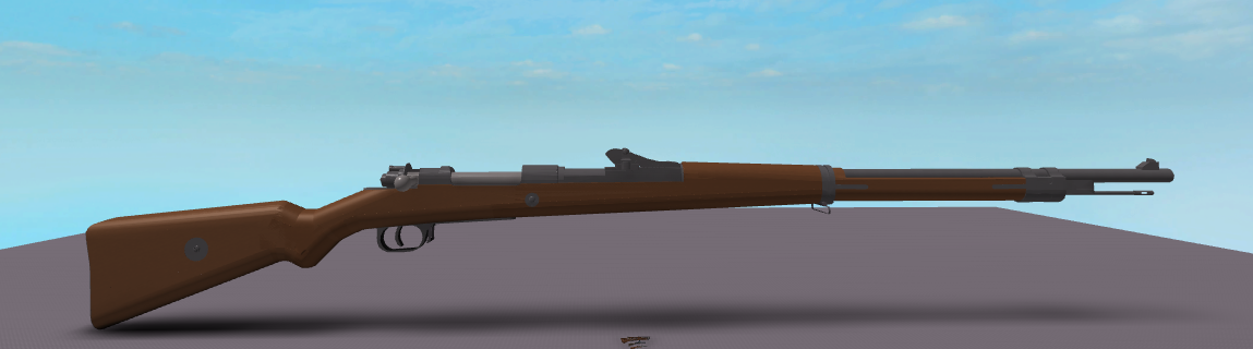 I've made this Gewehr 98 a while ago, dem details  : roblox