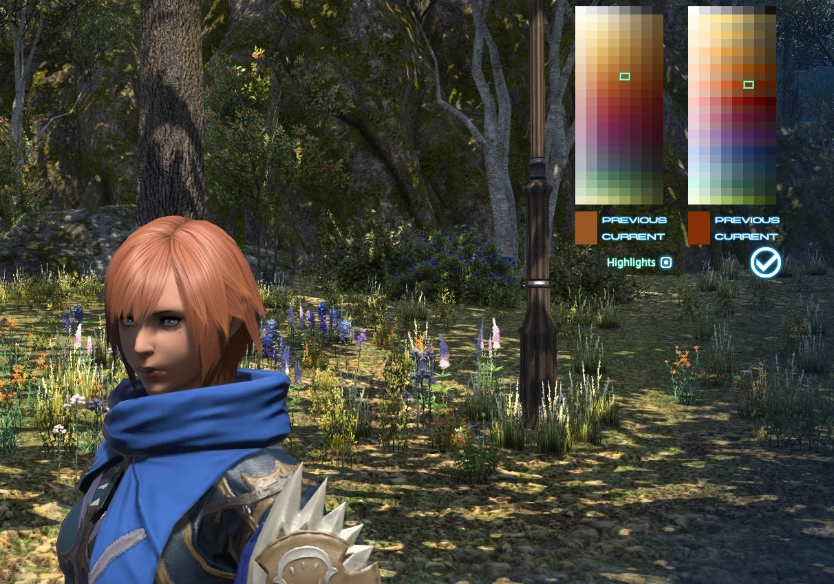 Can't get a good ginger    : ffxiv